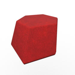 Geo Poof Red 2