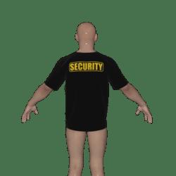 Men's Security Tshirt