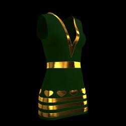Lily Heart Dress 02