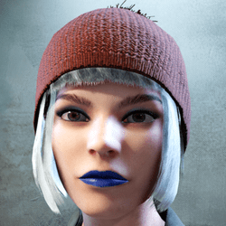 Daphne Makeup Combo Blue