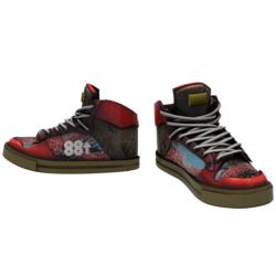 88Blooming Sneakers [FEMALE]