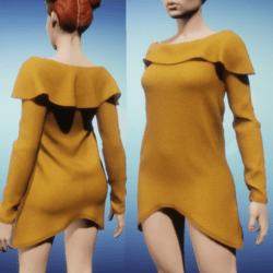 Snoodie Dress or Top -Orange