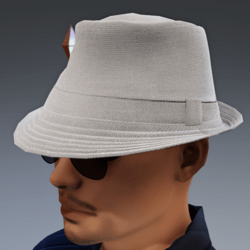 TKA Hat trilby man cotton 3