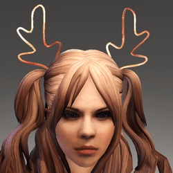 Lighting Diadem Reindeer-blinks