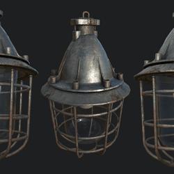 Bunker Lamp 1A