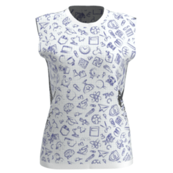 School Days -Sleeveless T-shirt