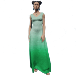 Gown Green Gradient