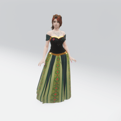 Coronation Day Gown