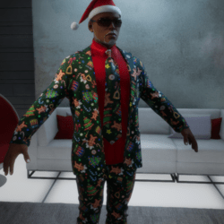 XmasSuitJacket_Green