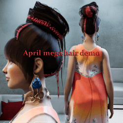april megahair demo