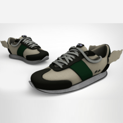 Messenger Sneakers Green