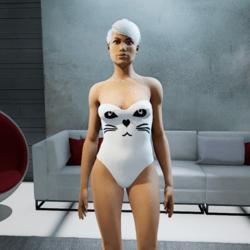 Swimsuit white