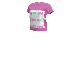 Sips Tea - T-shirt (pink)