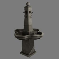 Fountain La Vill