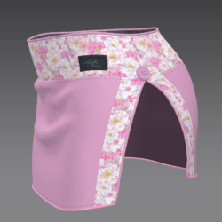 Skirt enri pink