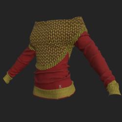 Nahi shirt red