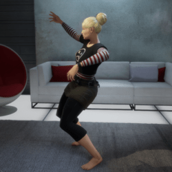 Rave Dance 1 (Female)