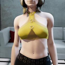 Brisa top yellow