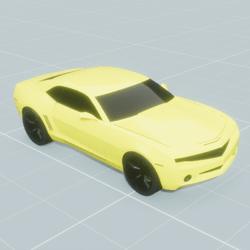 Camaro Jaune