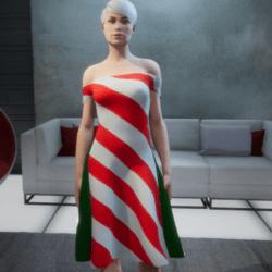 Candycane Dress