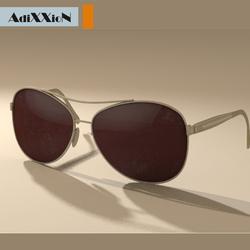 Sunglasses Cabana Aviator Gold