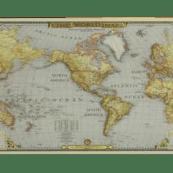 Wall Art - World Map