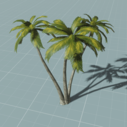 Palm Tree 3v1 (animated)