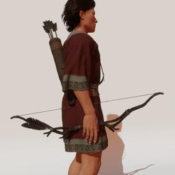 M - Ranger  long bow