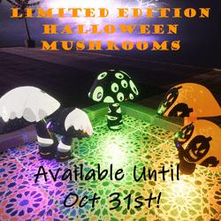 Halloween Edition ~ Hippy Mushrooms Set 11