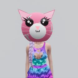 Kawaii Kitten Head