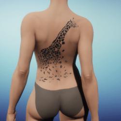 Giraffe Tattoo female