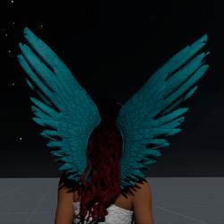 Wings Aquamarine Female