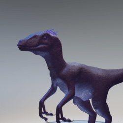 Purple Raptor Avatar