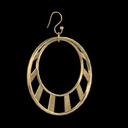 Crescent Earrings Gold
