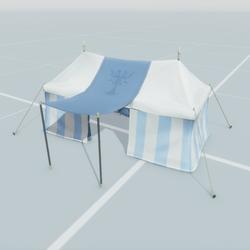 Large Tent Blue