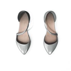 AV 2.0  Flat formal shoes - silver