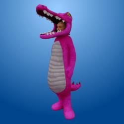 Croc Costume Pink (Female)