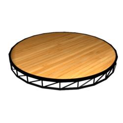 Round Stage Platform