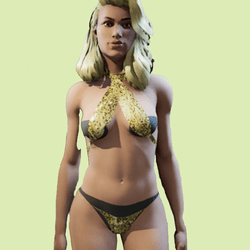 Lady J Gold Sq