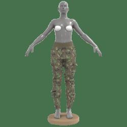 Cargo Pants Camouflage