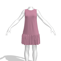 JENNY tent dress lilac
