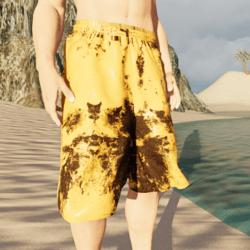Male Shorts - Rusted Machine