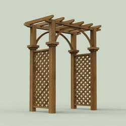 Garden Arches D