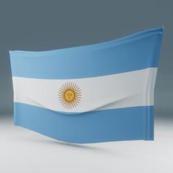 Argentina Flag Wall Display