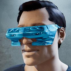 Cyberpunk Retro Sunglasses Male