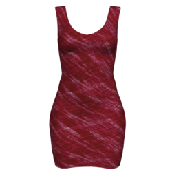 Woman Simple Dress - Scratch