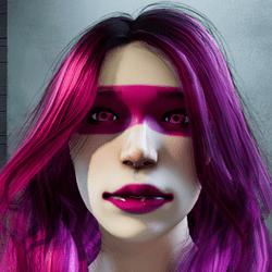 Neo pink makeup