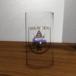 Beer Glas empty