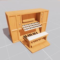Organ Console (non-scripted)