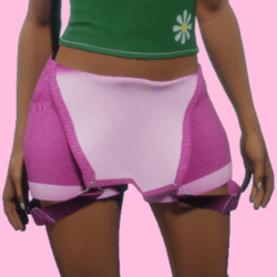 Short Jeans Pink women